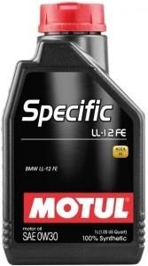 motul specific ll-12 fe 0w30