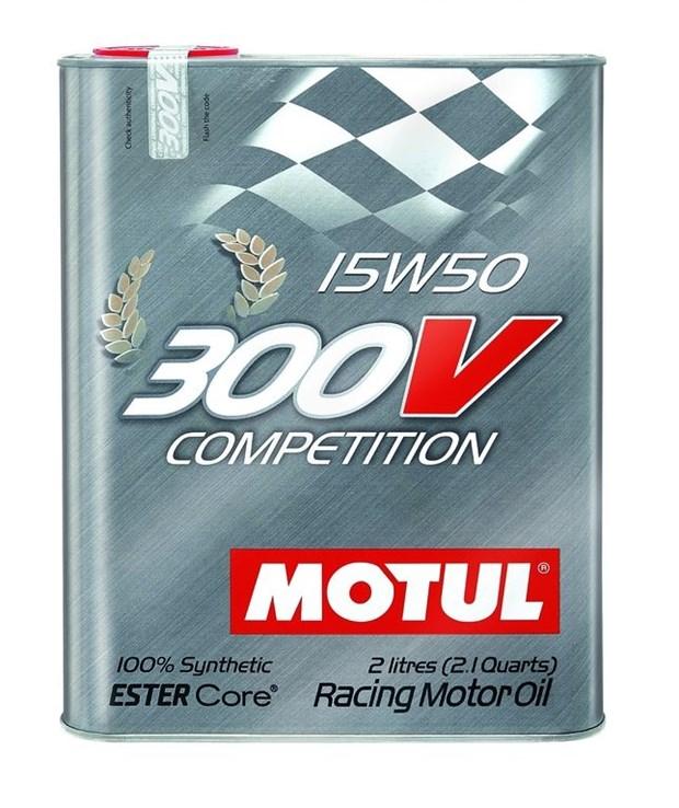 motul 300 v competition 15w50